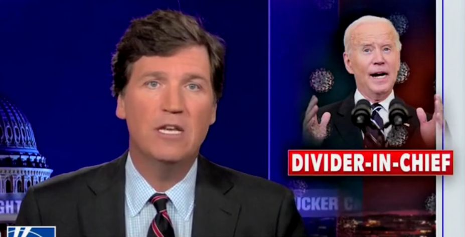 Tucker Gives Monologue for the Ages on Biden's Divisive 'Purge' of Unvaccinated Americans from Society